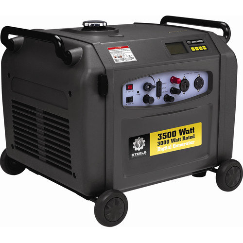 Steele Products 3500W Inverter Generator with Wheel Kit