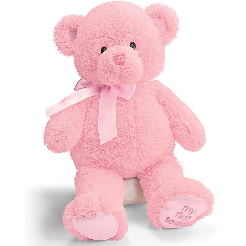 """Gund My First Teddy Bear 15"""" Pink by Gund"""