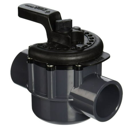 "Pentair Swimming Pool 1.5"" PVC 2-Way 150 PSI High Flow Diverter Valve 