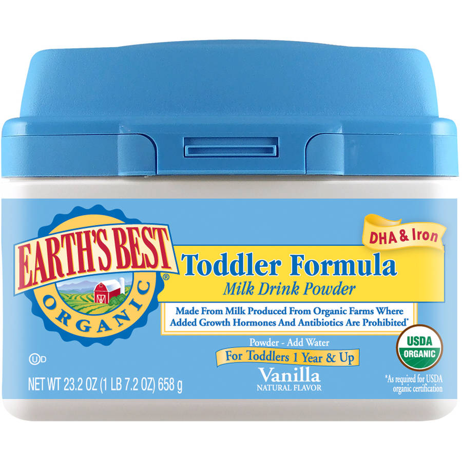 Earth's Best Organic Toddler Formula Vanilla Milk Drink Powder, 23.2 oz