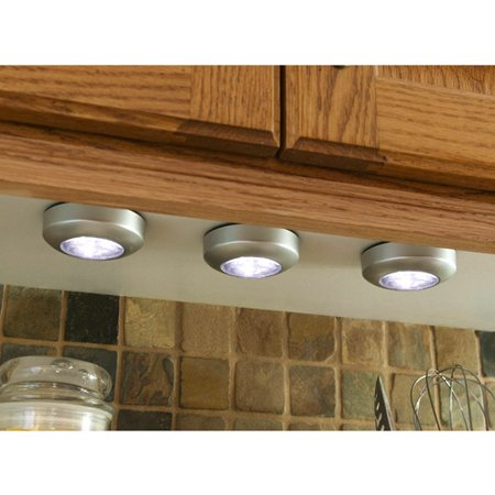 - Fulcrum Light-It Stick-On Light, 3-Pack - Walmart.com