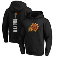 Devin Booker Phoenix Suns Fanatics Branded Playmaker Name & Number Pullover Hoodie - Black