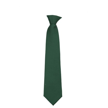 Mens Extra Long Big and Tall XL Solid Color Clip On Easy to Remove Clip Necktie Ties](Tie On Bustle)