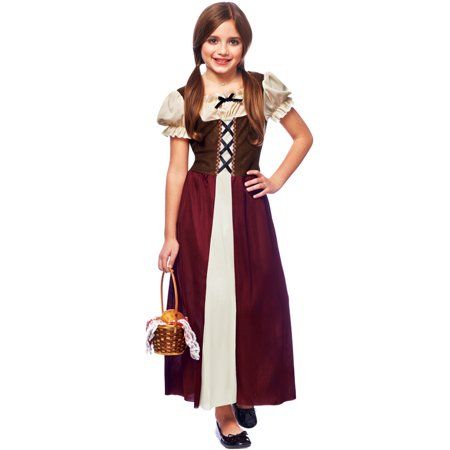 Peasant Girl Child Costume Child Renaissance Peasant Girl