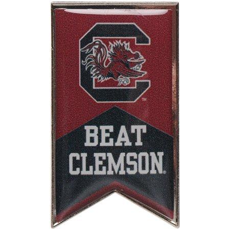 South Carolina Gamecocks Beat Clemson Rivalry Banner Pin - No Size