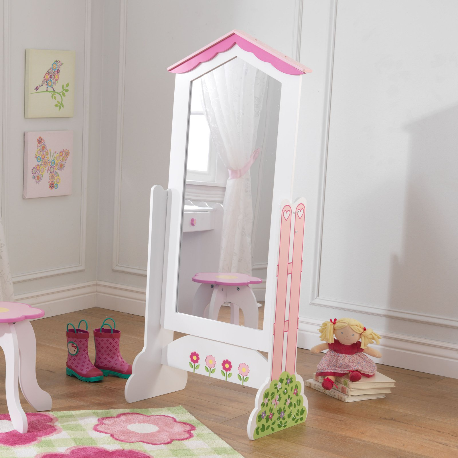 KidKraft Dollhouse Cheval Mirror