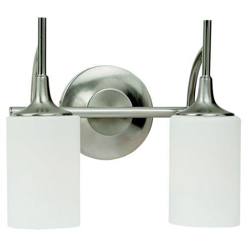 Sea Gull Lighting 44953 Stirling 2 Light Bathroom Vanity Light