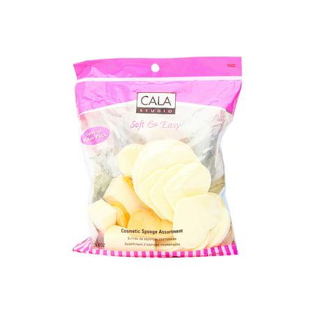 Cala International Make-Up Sponge Assortment Model No. 70-932 - 28 Sponges (Cala International Makeup)