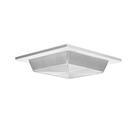 Lithonia Vrr 2/26 Dtt Recessed Housing Compact Fluorescent Ceiling Wall Mount Light Fixture Prismatic