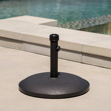 Lambert Concrete Umbrella Base, Black ()