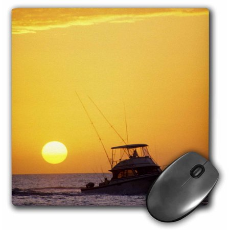 3dRose A fishing boat and sunset in Key West, Florida - US10 DFR0107 - David R. Frazier - Mouse Pad, 8 by