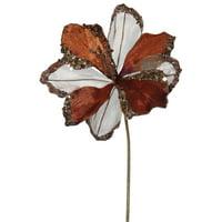 "Vickerman 20"" Chocolate Amaryllis, 9"" Flower 3/Bag"