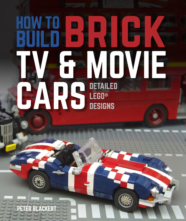 How To Build Brick TV And Movie Cars : Detailed Lego