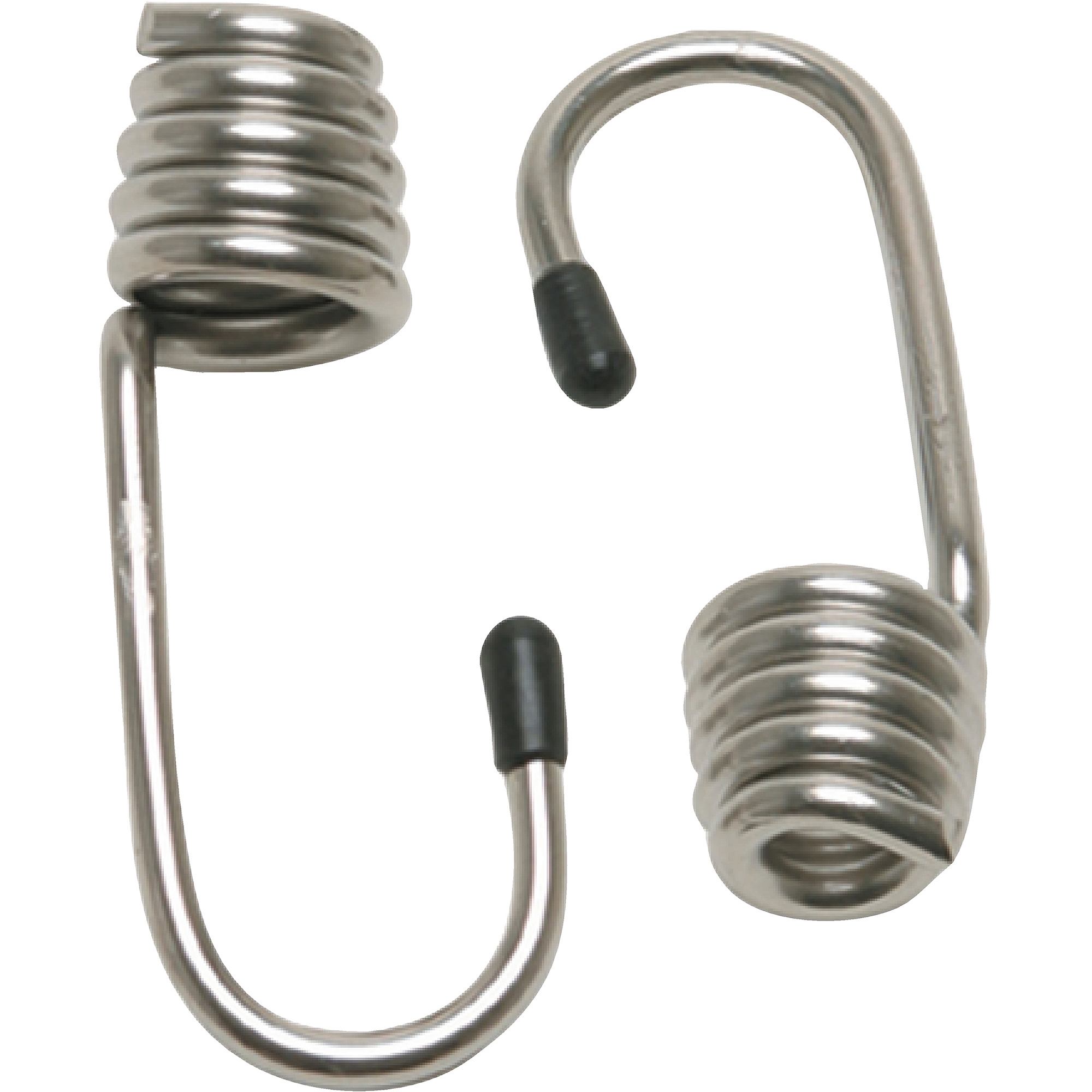 """CargoBuckle Stainless Steel Stretch Cord Hooks, 5/16"""", 2pk"""