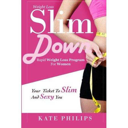 Perte de poids: Slim Down, programme de perte de poids rapide pour les femmes Your Ticket To Slim and You Sexy