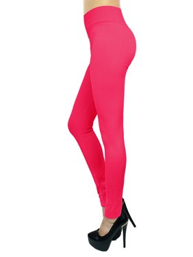 401c33d64c585 Product Image Women's Fashion Stretchy Fleece Leggings Seamless Solid  Colors-High Waisted (FAST & FREE SHIPPING