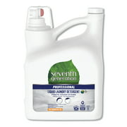 Seventh Generation Professional Liquid Laundry Detergent, Free and Clear Scent, 150 oz Bottle -SEV44732EA