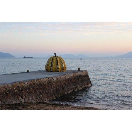 - Canvas Print Attraction Pumpkin Island Landmark Art Sculpture Stretched Canvas 10 x 14