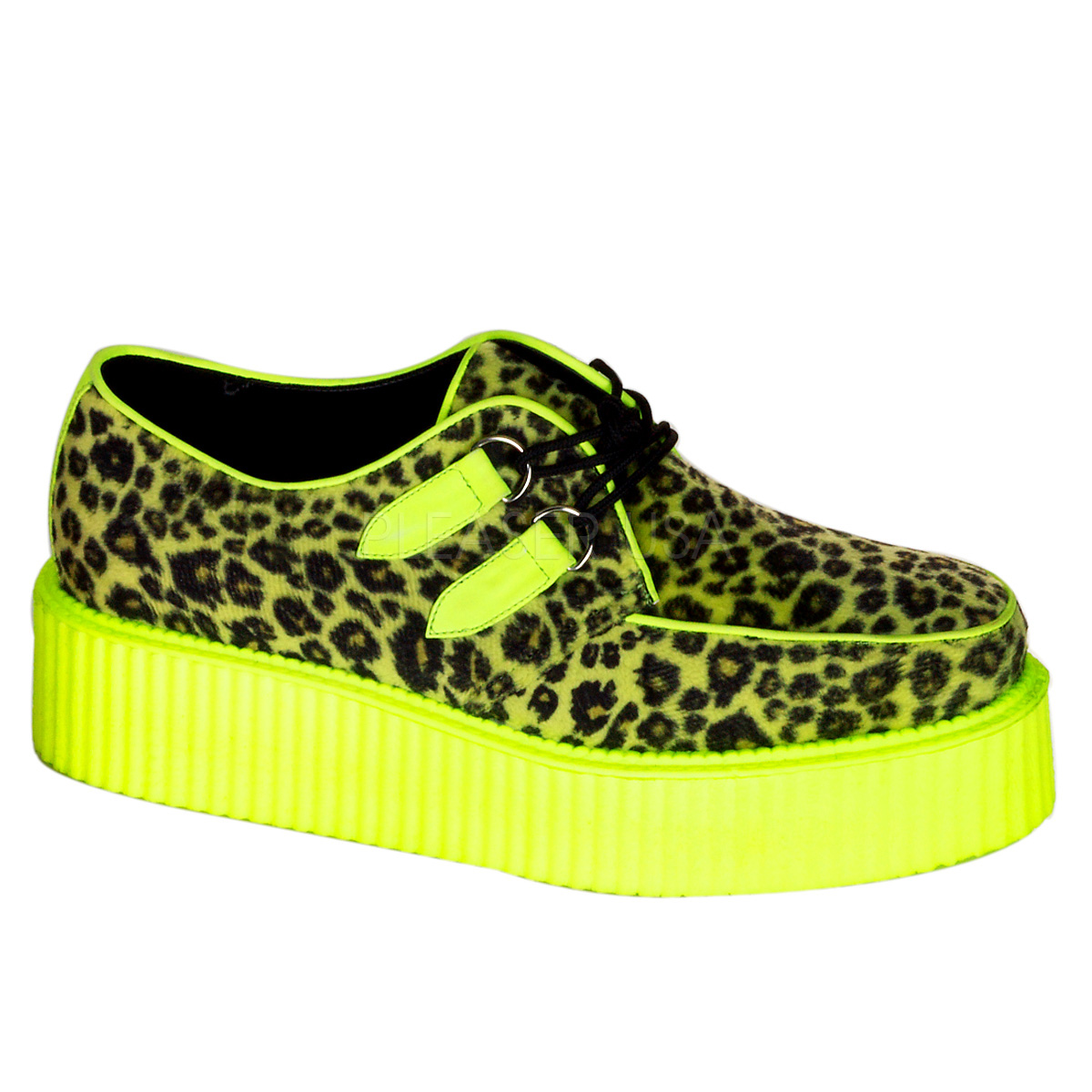 V-creeper-507UV, 2''  UV Veggie Creeper Shoes