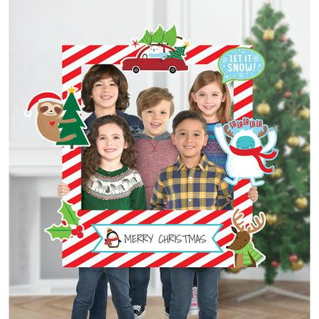 Amscan Giant Customizable Christmas Photo Frame Kit ()