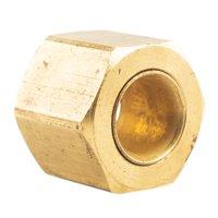 "1/4"" Compression Nut & Ferrule Combo for 1/4"" OD Tube Brass Captive Sleeve Nut"