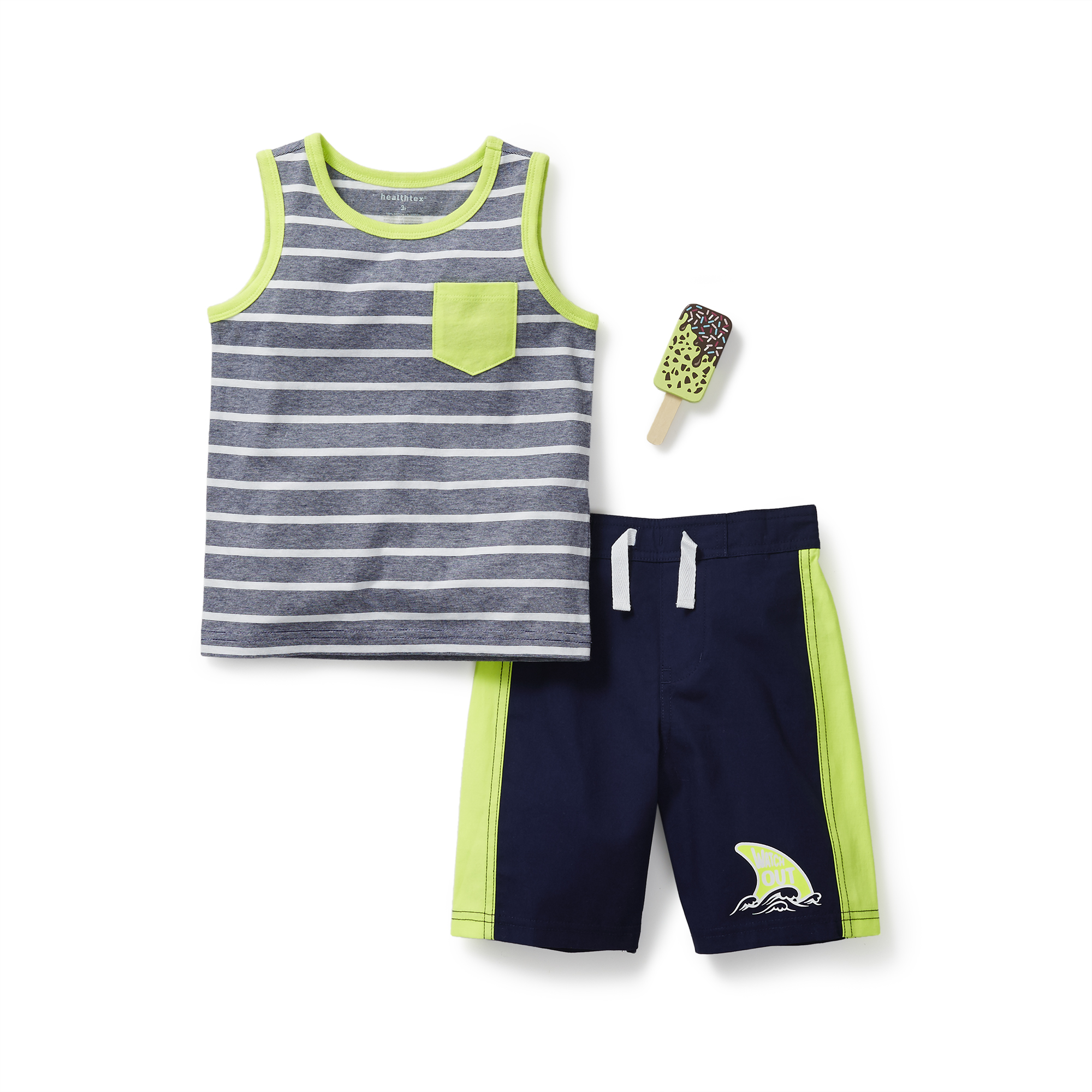 f6133236 Healthtex - Baby Toddler Boy Graphic Tank and Short Outfit Set ...