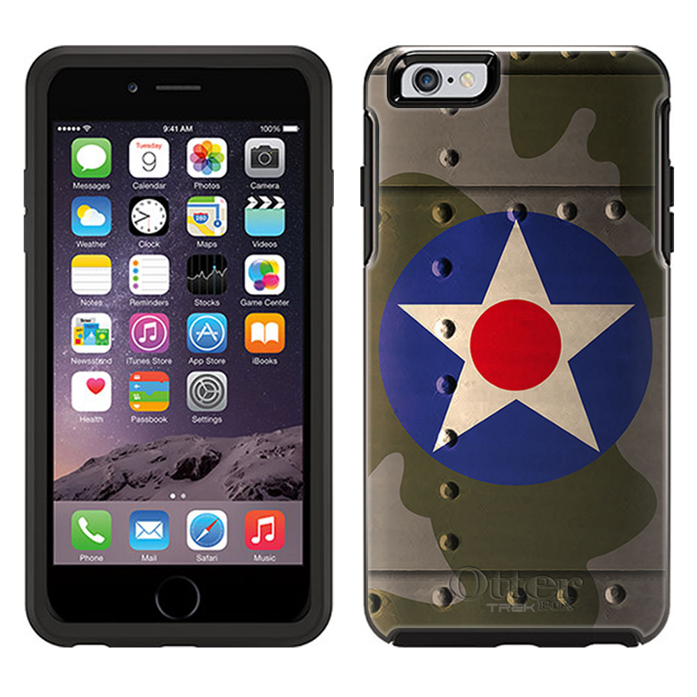OtterBox Symmetry Apple iPhone 6 Plus Case - United States Air Corps War Plane Fuselage OtterBox Case