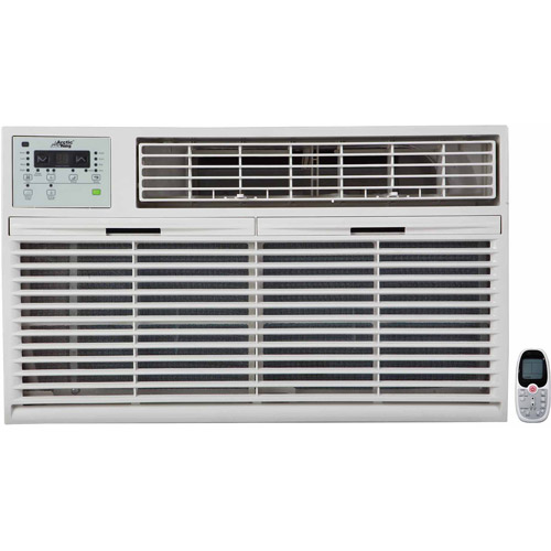 Arctic King WTW-14ER5A 14,000/13,600-BTU Remote Control Cool and Heat Through-The-Wall/Window Air Conditioner, White
