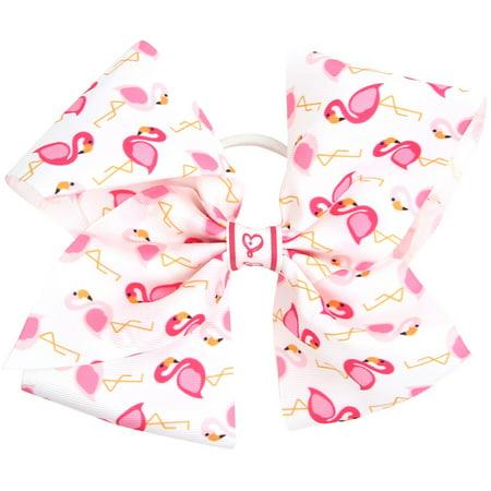 JoJo Siwa Hair Bow, Pink Flamingo ()
