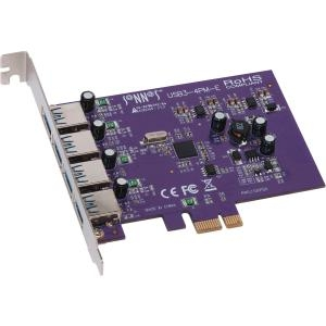 4PORT USB 3.0 PCIE CARD FOR MAC/WIN