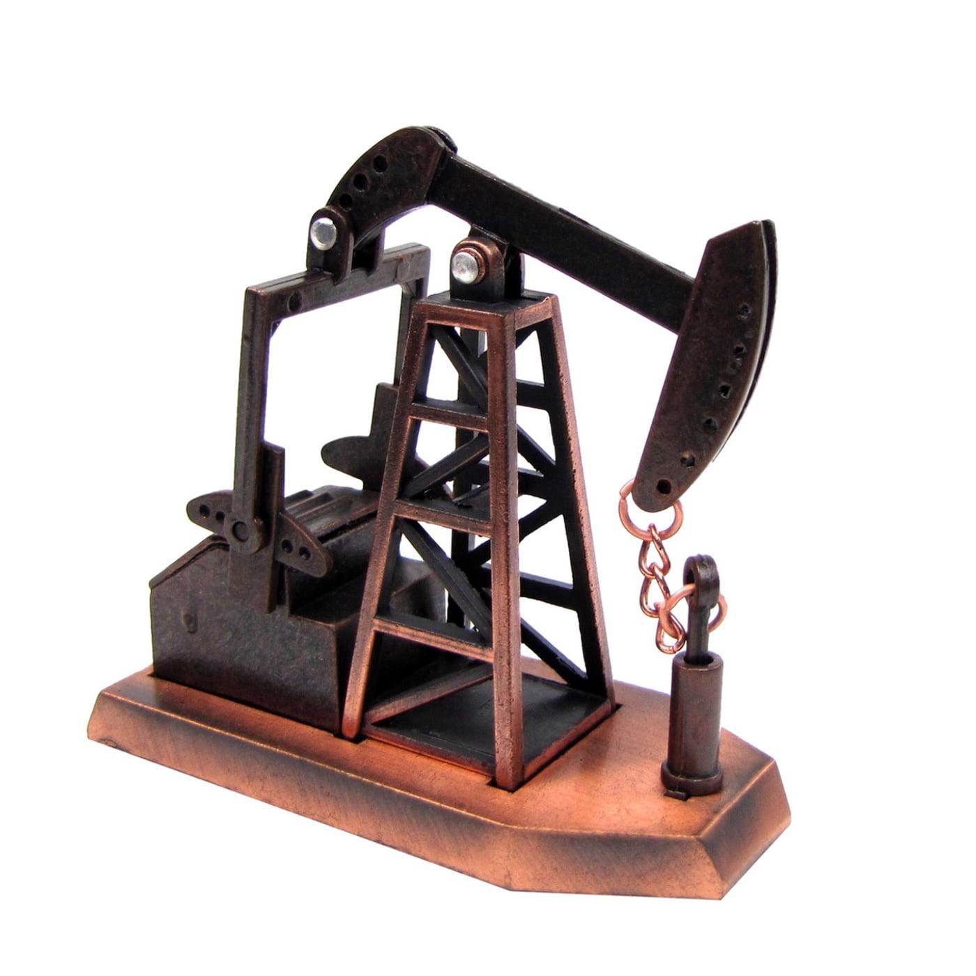 1:48 O Gauge Scale Replica Oilfield Oil Pump Jack Rig Die Cast Pencil Sharpener by
