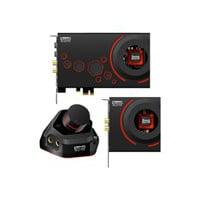 Creative Sound Blaster ZxR - Sound card with expansion module - 24-bit - 192 kHz - 124 dB SNR - 5.1 - PCIe - Sound Core3D