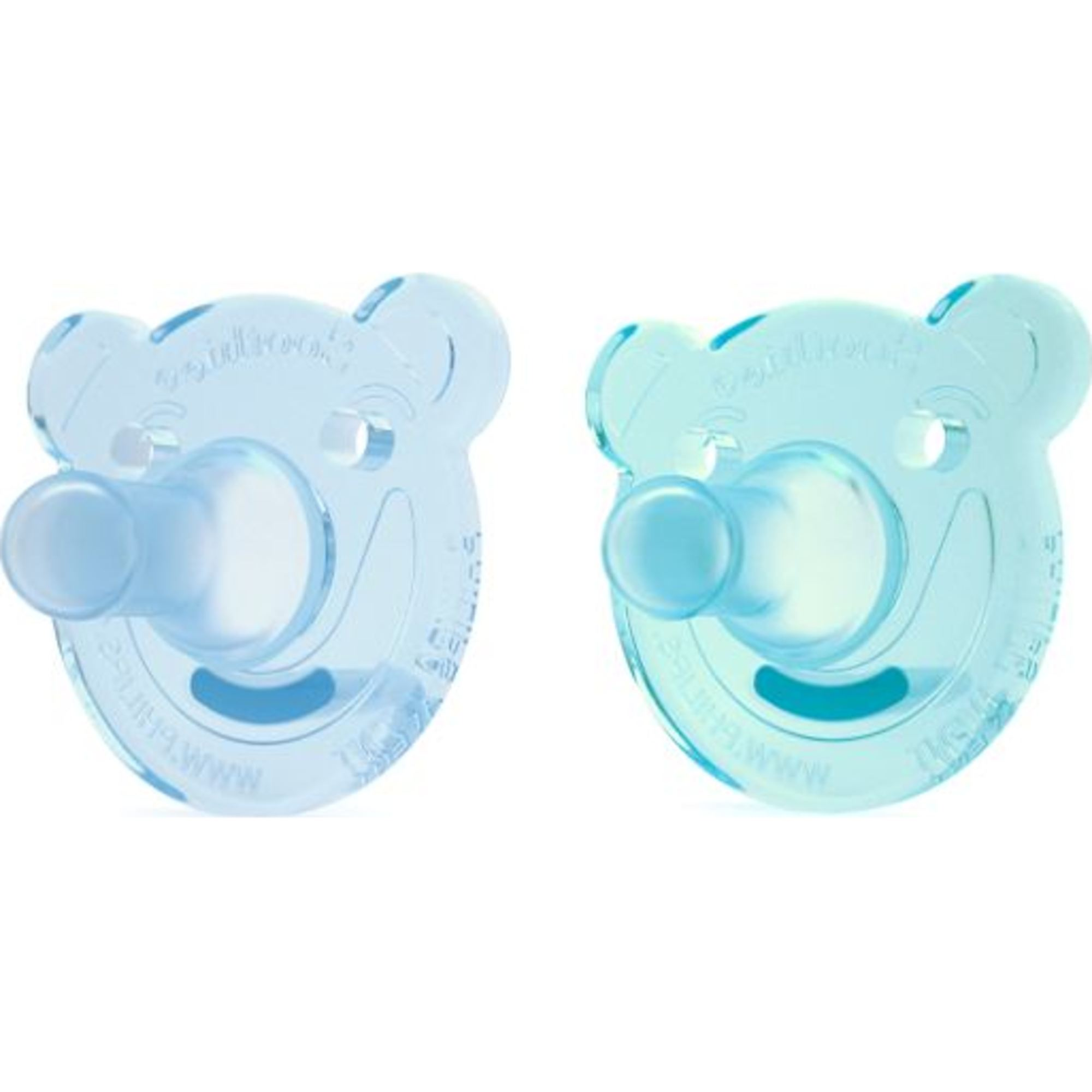 0-3 Months Blue Philips 2 Pack AVENT Soothie Pacifier