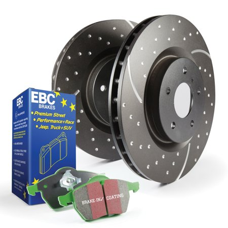 EBC Brakes S10KR1176 S10 Kits Greenstuff 2000 and GD Rotors Fits 06-13 3 3 Sport ()