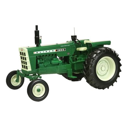 Oliver 1650 Wide Front Diesel Tractor with Radio