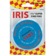 Euro-Notions Iris Swiss Pins, 500-Pack