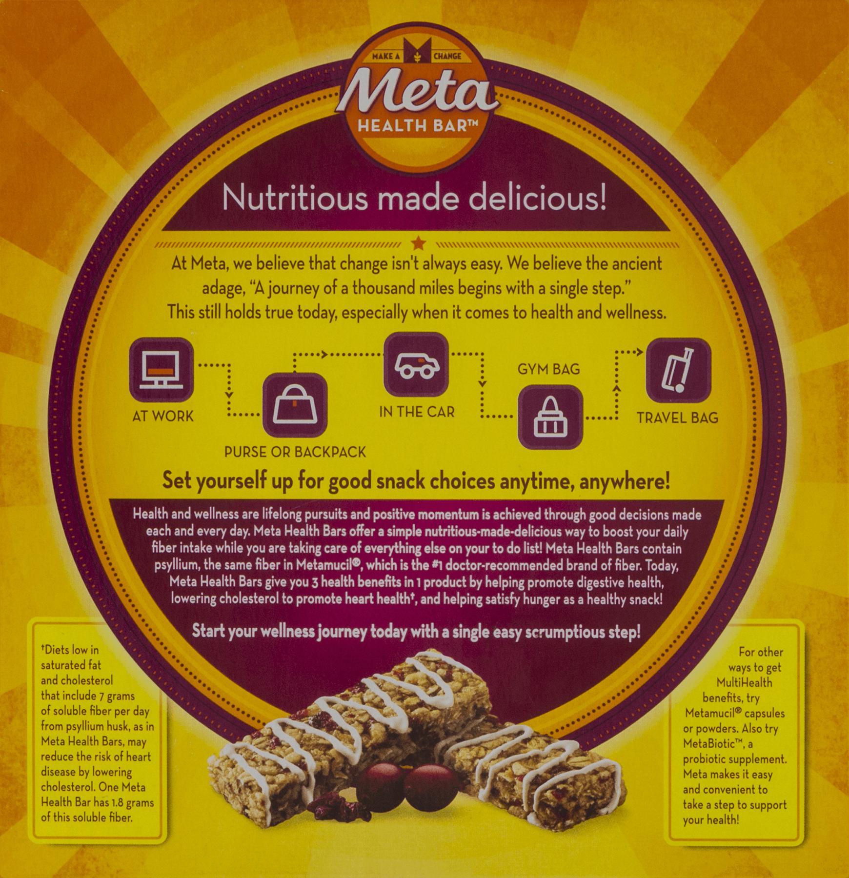 Ingredients in meta health bars - Ingredients In Meta Health Bars 5