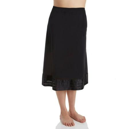 Women's Shadowline 6419 Plus Size Adjustable Length Half Slip