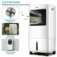 Evaporative Portable Air Cooler Fan w/ Remote Control