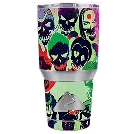 Skin Decal Vinyl Wrap for Ozark Trail 30 oz Tumbler Cup Stickers Skins Cover (6-piece kit) / Skull Squad, green berets