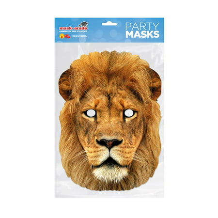 Lion Facemask – Costume Accessory - Lion Tail Costume Accessory