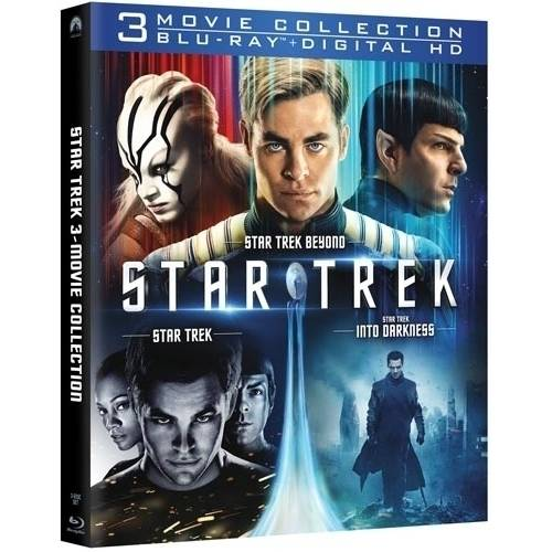 Star Trek 3-Movie Collection: Star Trek / Star Trek Into Darkness / Star Trek Beyond (Blu-ray   Digital HD)