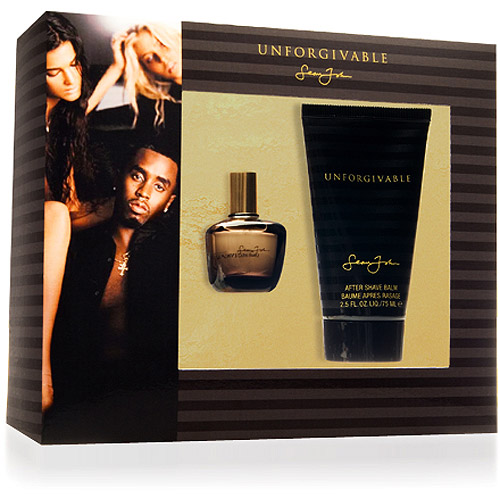 Unforgivable By Sean Johns Gift Set 0.5 Oz + After Shave 2.5 Oz