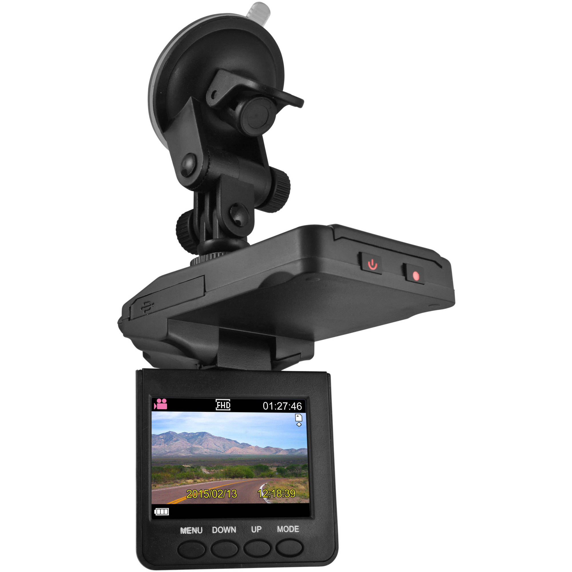 "DP Video 2.5"" HD DashCam with Night Vision"