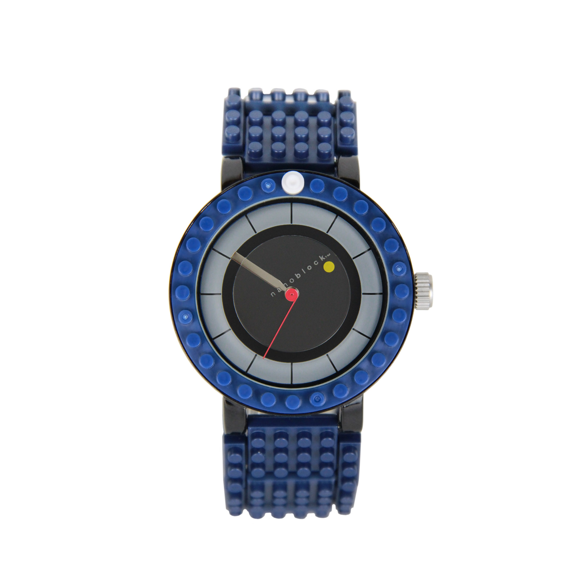 Nanoblocktime All Rounder Watch, Blue and Black by Beta Enteprises Inc.