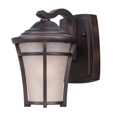 Wall Sconces 1 Light Bulb Fixture With Copper Oxide Finish Die Cast Aluminum Material E26 Bulbs 7 inch 9 Watts ()