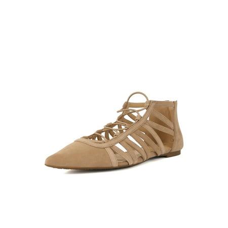 e880ac07fa57 MICHAEL Michael Kors - Michael Michael Kors Womens Clarissa Flat Suede  Pointed Toe Slide Flats - Walmart.com