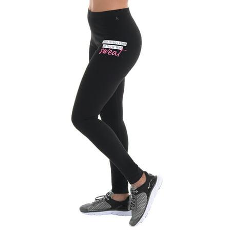 51e1b7d14c7 Danskin Now Women s Core Active Fitspiration Graphic Legging ...