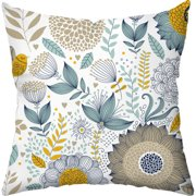 Checkerboard, Ltd Wildflowers Throw Pillow