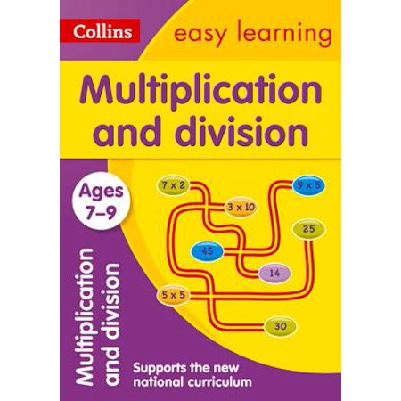 Collins Easy Learning Age 7-11 — Multiplication and Division Ages 7-9: New Edition (Super Easy Learning Songs Halloween)